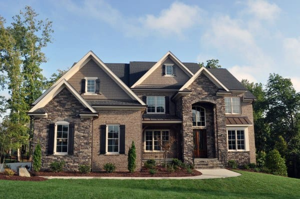 Remarkable Ideas For Brick And Stone Exterior