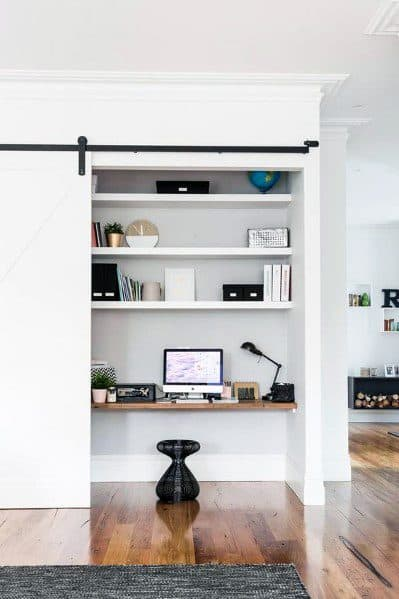 Remarkable Ideas For Closet Office
