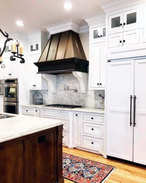 Remarkable Ideas For Copper Kitchen Hood