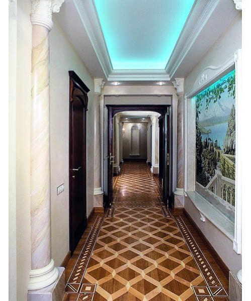 Remarkable Ideas For Crown Molding Lighting Hallway