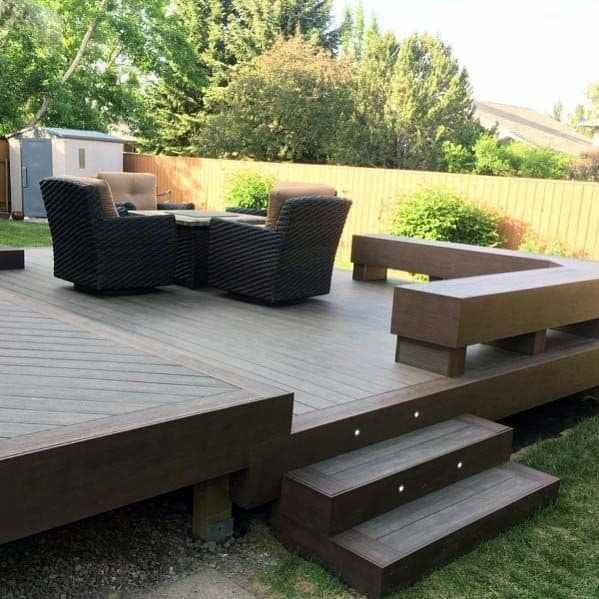 Remarkable Ideas For Deck Bench