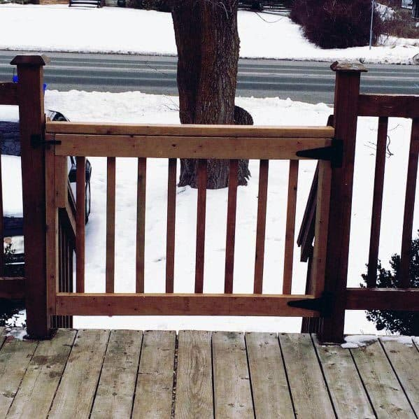 Remarkable Ideas For Deck Gate