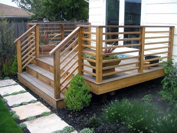Remarkable Ideas For Deck Railing