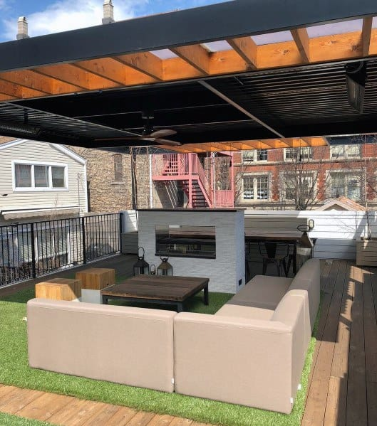 Remarkable Ideas For Deck Roof