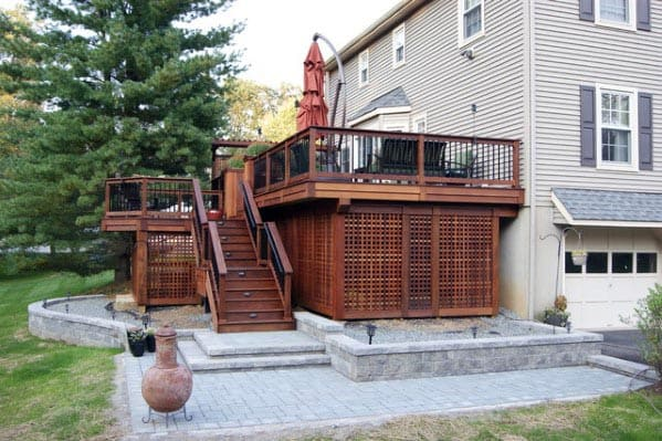 Remarkable Ideas For Deck Skirting