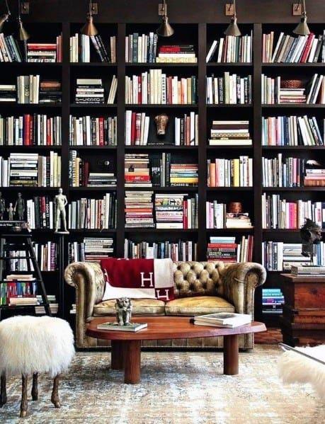 Remarkable Ideas For Floor To Ceiling Bookshelves