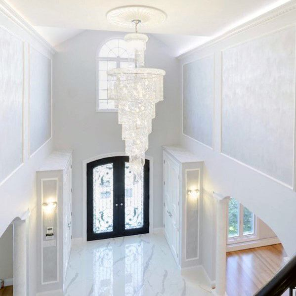 Remarkable Ideas For Foyer Lighting Crystal Chandelier