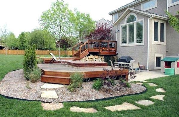 Remarkable Ideas For Hot Tub Deck