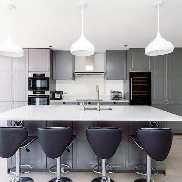 Remarkable Ideas For Kitchen Grey