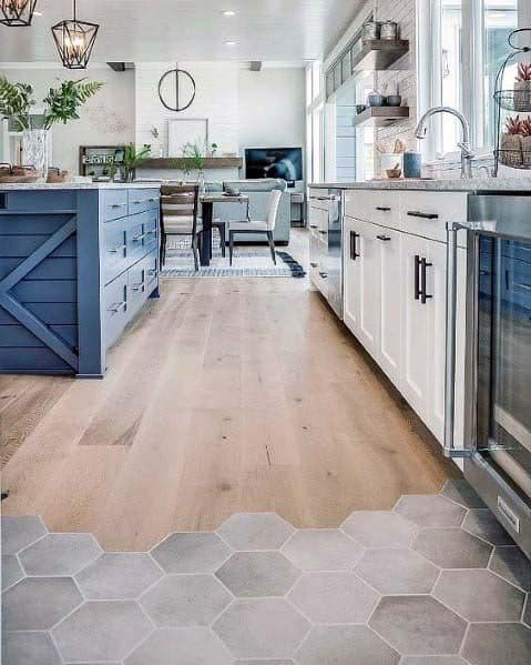 Top 50 Best Kitchen Floor Tile Ideas Flooring Designs