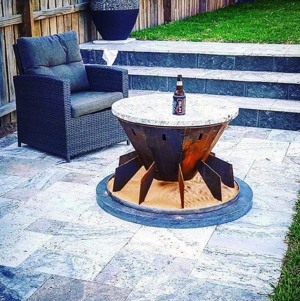 Remarkable Ideas For Metal Fire Pit