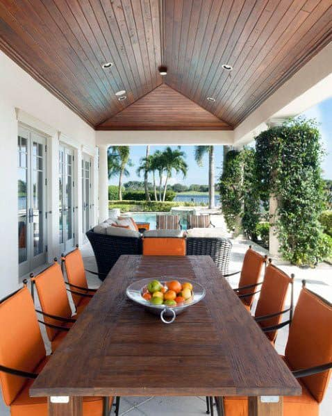 Top 50 Best Patio Ceiling Ideas Covered Outdoor Designs