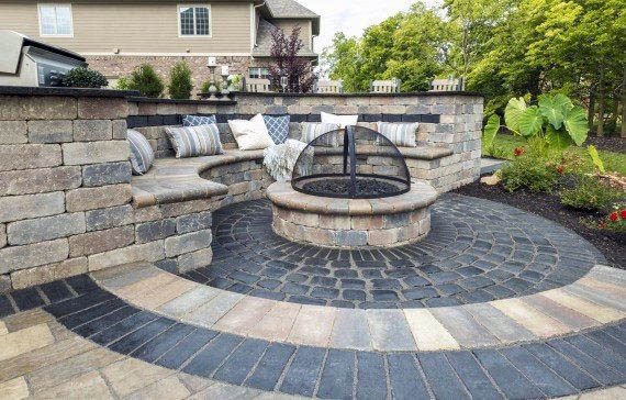 Remarkable Ideas For Patio Firepit