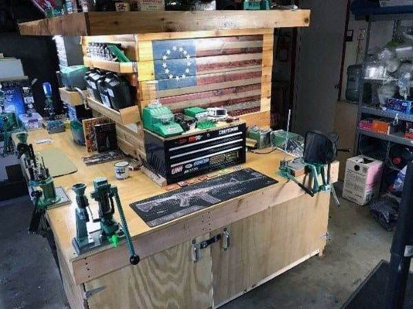 Remarkable Ideas For Reloading Bench Wood