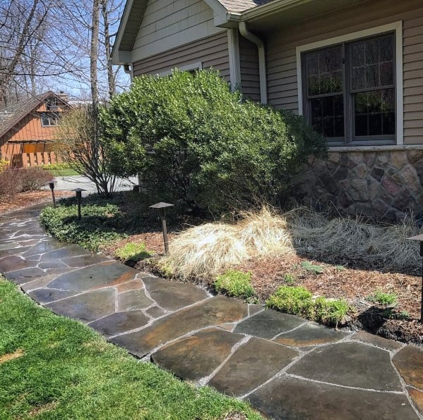 Remarkable Ideas For Stone Walkway