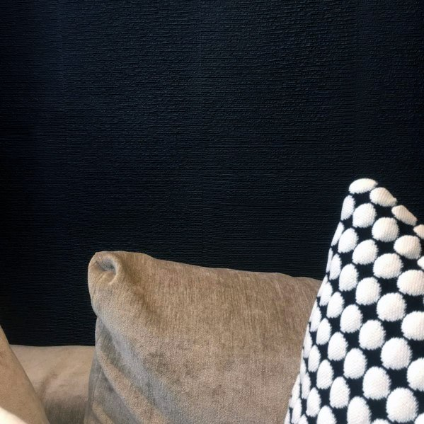 Remarkable Ideas For Textured Wall Black Fabric