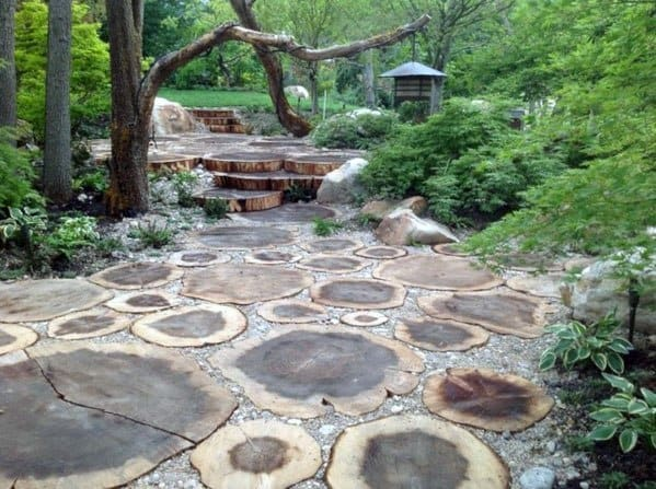 Remarkable Ideas For Wooden Walkway