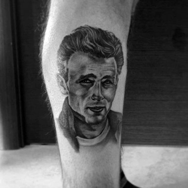 Remarkable James Dean Tattoos For Males