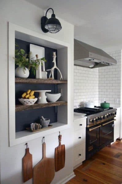 Remarkable Kitchen Wall Ideas For Recessed Wall Niche