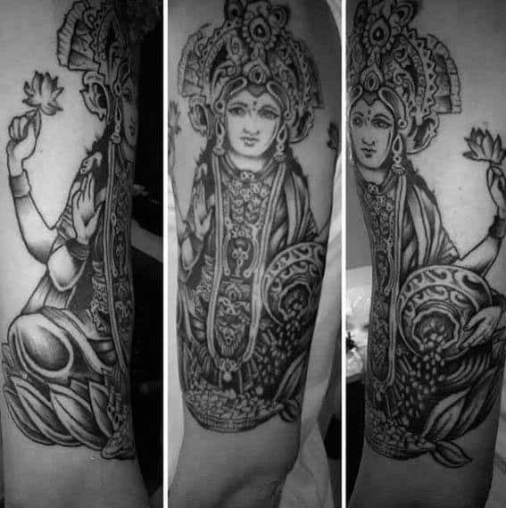 Remarkable Krishna Tattoos For Males