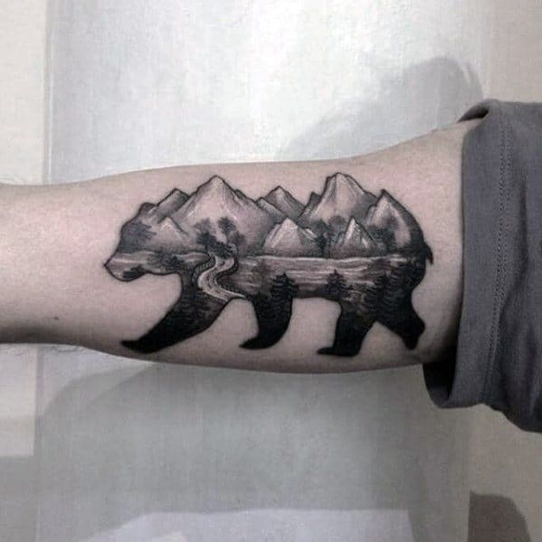 Remarkable Lake Tattoos For Males