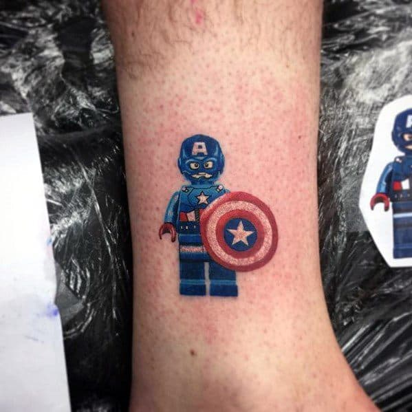 Remarkable Lego Tattoos For Males