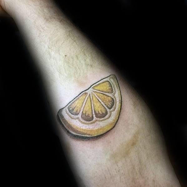 Remarkable Lemon Tattoos For Males