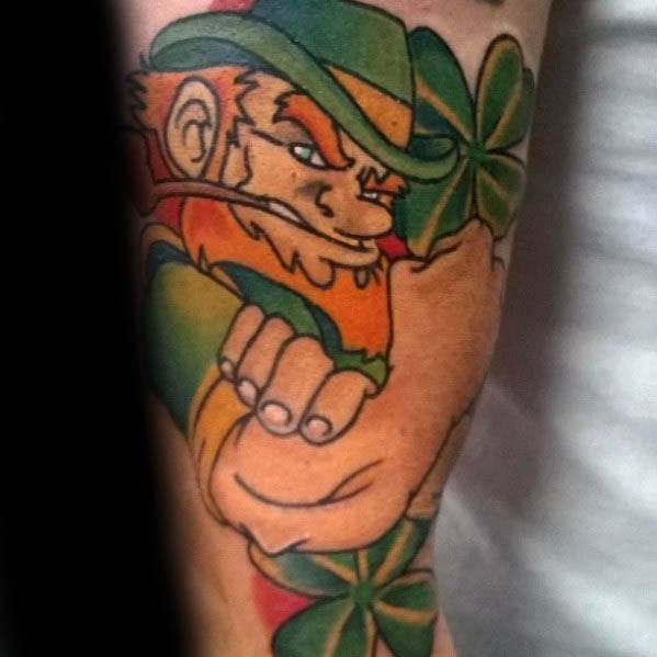 Remarkable Leprechaun Tattoos For Males