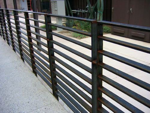 Remarkable Metal Ideas For Modern Fence