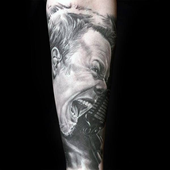 Remarkable Metallica Tattoos For Males