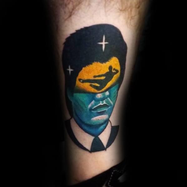 Remarkable Modern Leg Bruce Lee Tattoos For Males