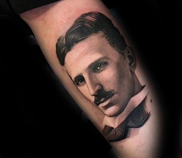 Remarkable Nikola Tesla Tattoos For Males