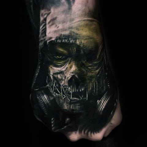 Remarkable Scarecrow Tattoos For Males