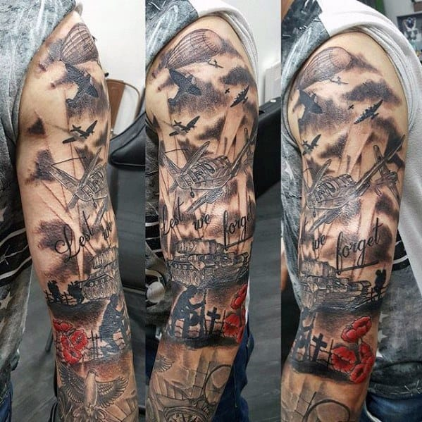 Remarkable Tank Tattoos For Males