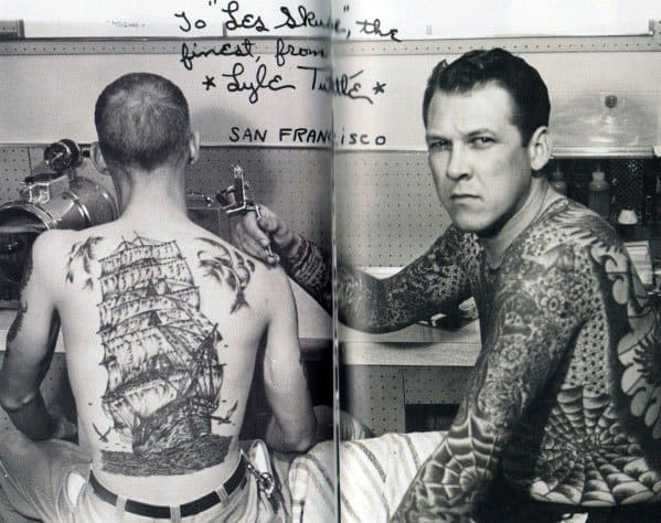 Remarkable Vintage Tattoos For Males On Back