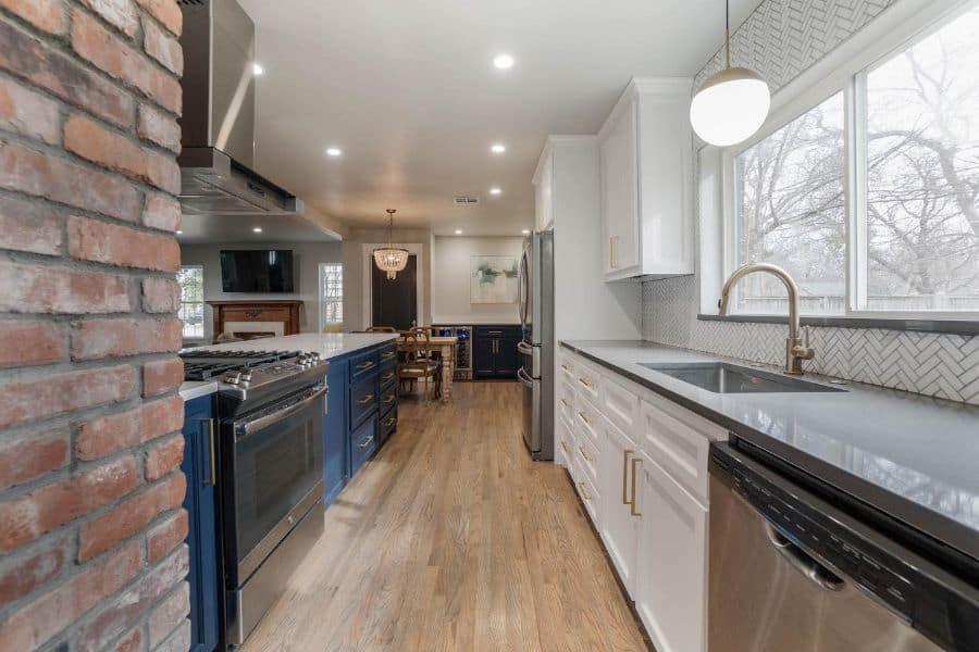 remodel galley kitchen ideas spinnakerconstruction
