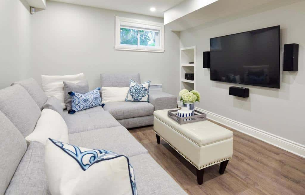 remodel small basement ideas laurieyappdesign