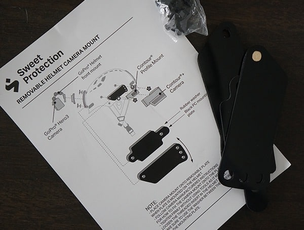 Removeable Camera Mount Sweet Protection Grimnir Ii Te Mips Helmet
