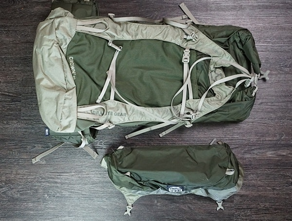 Removeable Lid Granite Gear Crown2 60 Pack Review