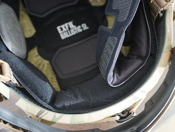 Removing Rear Comfort Protection Pad Team Wendy Exfil Ballistic Sl Helmet