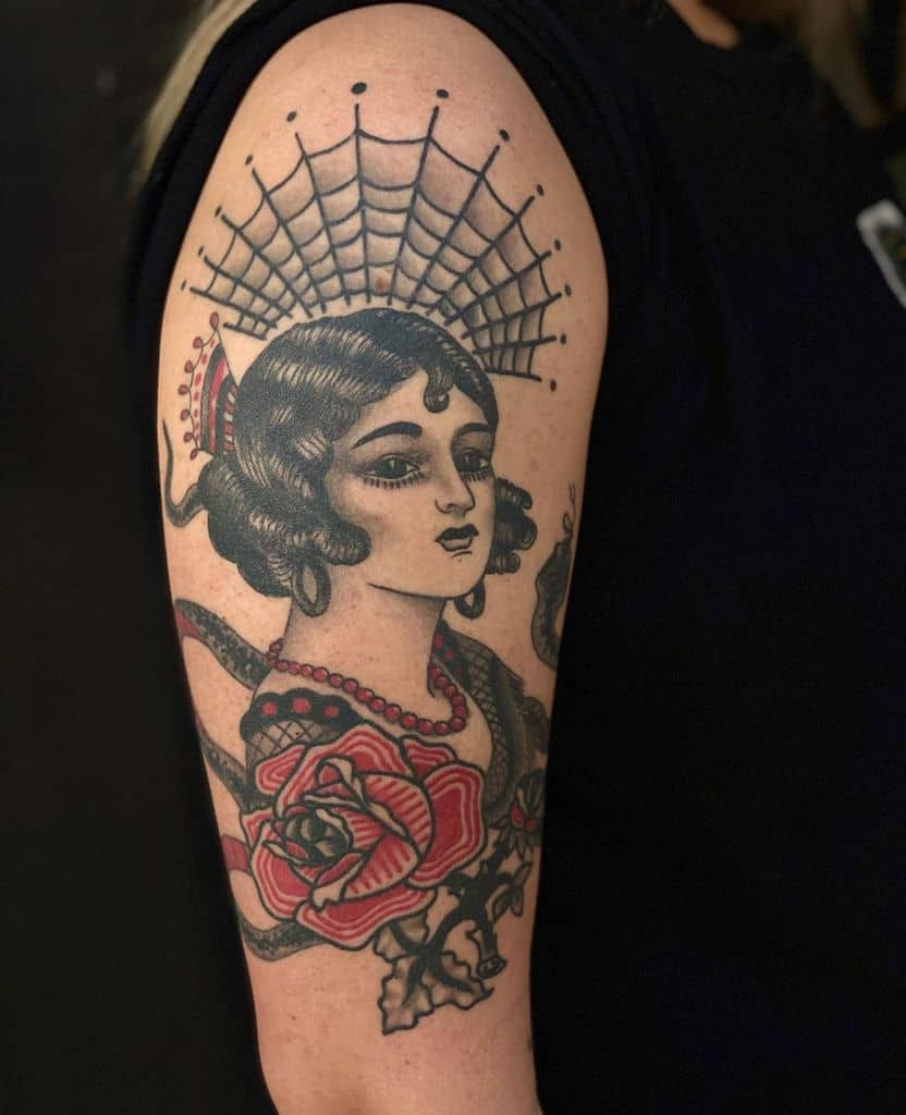 Top 109 Best Gypsy Tattoos - [2020 Inspiration Guide]
