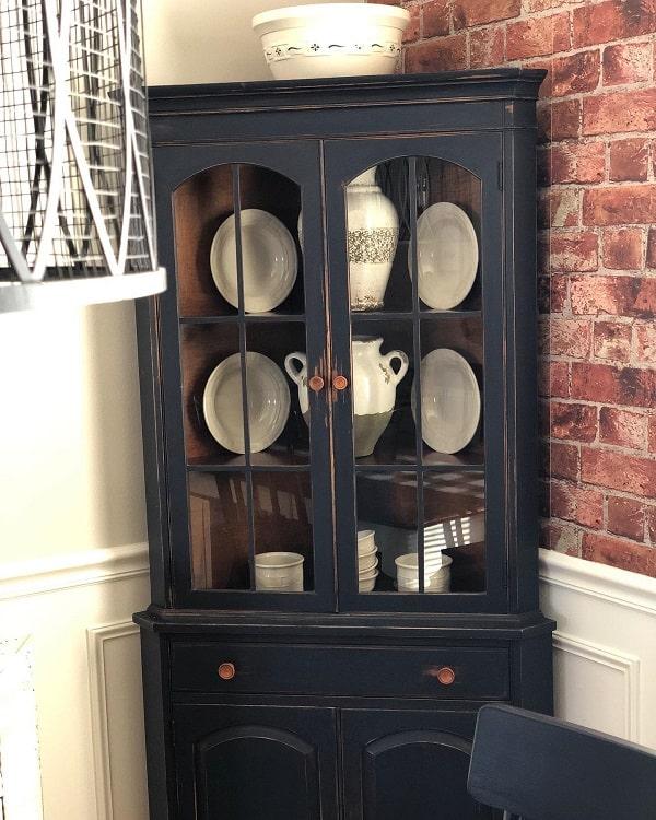 Repurposed Corner Cupboards Curio Cabinets Ihaveaprojectforthat