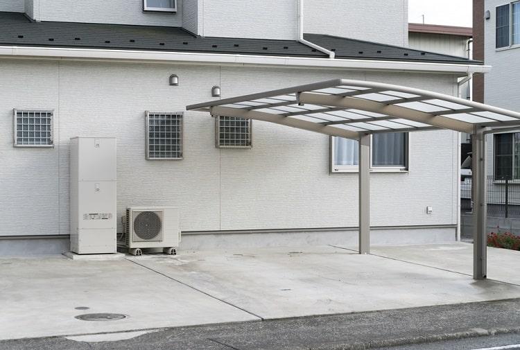Residential Detached Modern Carport