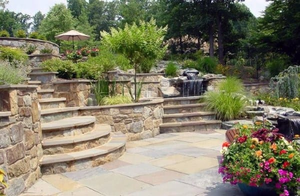 Garden Wall Design Ideas Top 60 best retaining wall ideas landscaping designs retaining wall design ideas workwithnaturefo
