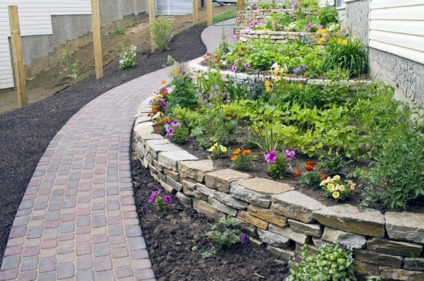 Top 48 Best Retaining Wall Ideas Landscaping Designs Amazing Backyard Retaining Wall Designs
