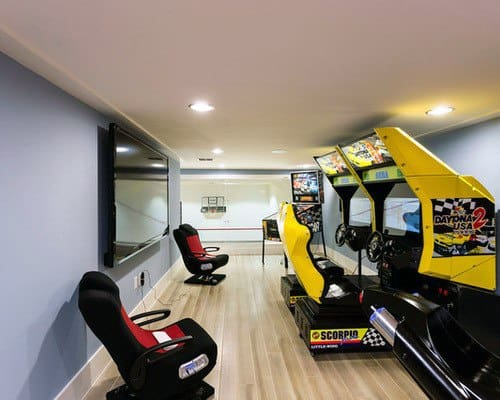 Retro Arcade Gaming Man Cave