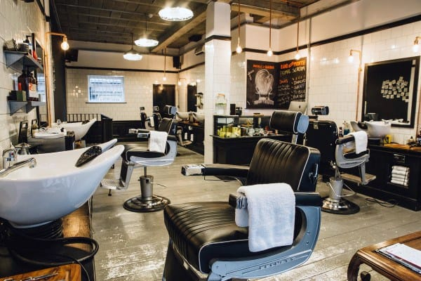 Retro Barber Shop Designs