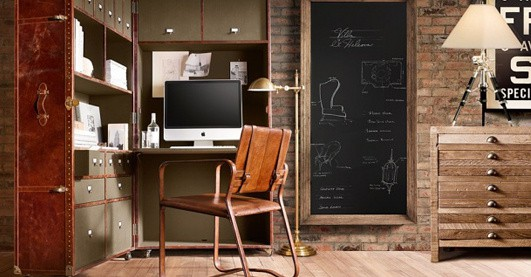 Retro Home Office Designs
