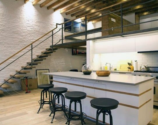 Retro Industrial Look Loft Ideas