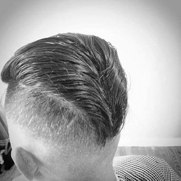 Retro Mens Ducktail Hairstyle